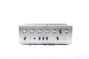 Audio electronics - Audio amplifier