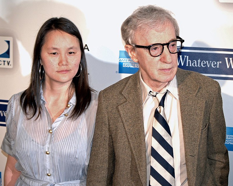 Woody Allen with cool, cute, Wife Soon-Yi Previn