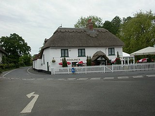 Sopley village and civil parish situated in the New Forest National Park of Hampshire, England