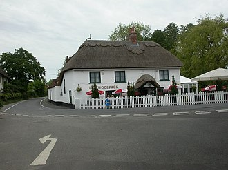Sopley - Image: Sopley, The Woolpack geograph.org.uk 1316657