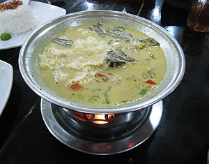 Soto (food) - Soto Betawi, mainly consisting of offal in creamy milk or coconut milk soup, from Jakarta