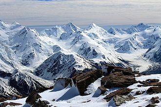 Southern Alps - Southern Alps in winter