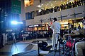 Southern Naval Command band performs at Lulu Mall, Kochi, 2017 (5).jpg