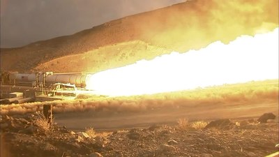 File:Space Launch System Booster Passes Major Ground Test.webm