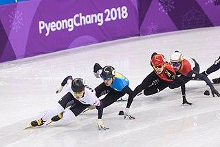 Xu Hongzhi Chinese short track speed skater