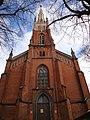 Spring 09' in Riga. Anglican church - panoramio.jpg