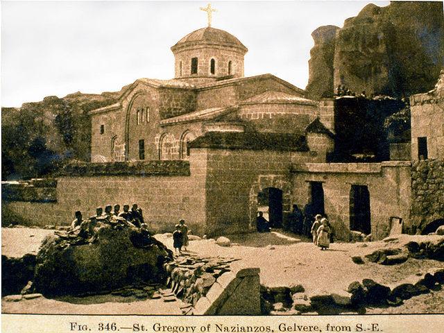 Церковь св. Григория на его родине, в Каппадокии. Фото XIX века