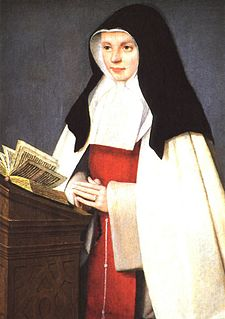 French duchess who entered religious life, became a nun and later an abbess who founded the Sisters of the Annunciation of Mary (canonized 1950)