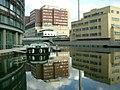 St. Mary's Hospital, Grand Union Canal - Paddington Basin - geograph.org.uk - 678743.jpg