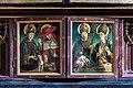St. Wolfgang kath. Pfarrkirche Pacher-Altar Predella geschlossen 01.jpg