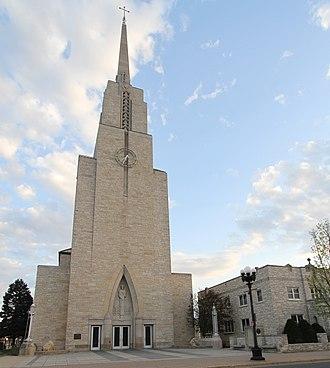 Cathedral of Saint Joseph the Workman - Image: St Joe La X