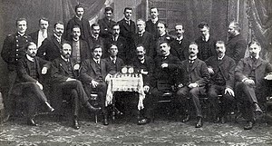 Chigorin Memorial - Photo from the first Chigorian Memorial Tournament, 1909