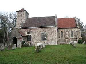 Fersfield - St Andrew's Church, Fersfield