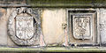 St Andrews - King James Library - coats of arms on the facade 09.JPG