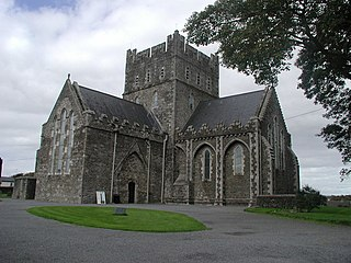 Kildare Town in Leinster, Ireland