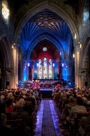 Kilkenny Arts Festival - St Canices Cathedral nave