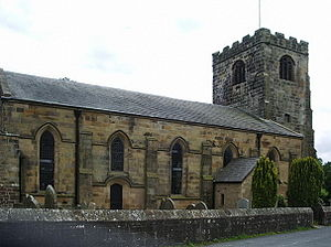 Broughton, Lancashire - Church of St John Baptist
