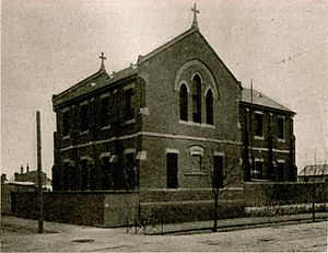 St Joseph's Technical School, Abbotsford - Original building constructed circa 1892.