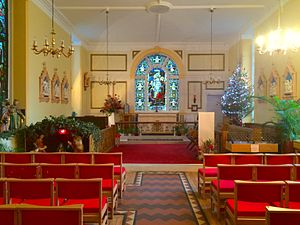 St Mary's Hospital, London - The Chapel of St Mary's Hospital, Paddington, London.