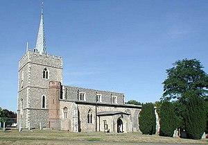 Sawbridgeworth - Image: St Mary the Great, Sawbridgeworth, Herts geograph.org.uk 358893