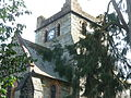 St Marys Church, Betws-y-coed, Tower.JPG