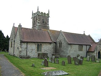 Stoke Gifford - Image: St Michael's Church, Stoke Gifford geograph.org.uk 3458929