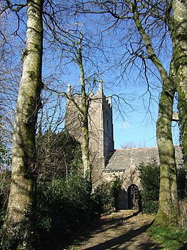 St Petrock's church, Inwardleigh - geograph.org.uk - 328154.jpg