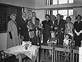Staatsbezoek president Coty aan Nederland. Mevrouw Coty en koningin Juliana bezo, Bestanddeelnr 906-6172.jpg