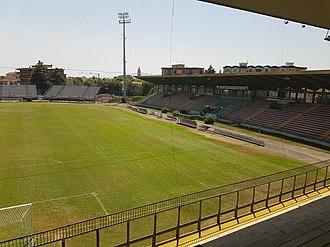 Stadio Marcello Melani - Image: Stadium, Pistoia, Tuscany