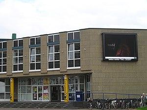 Langenfeld, Rhineland - Stadthalle with Schauplatz