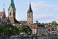Stadthaus Zürich - Fraumünster - Zunfthaus zur Meisen - St. Peter - Quaibrücke 2010-09-10 17-25-14.JPG