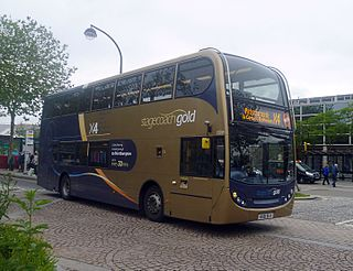 Stagecoach Gold bus route X4