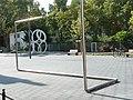 Stahlrohr an der Mannheimer Kunstgalerie 01.jpg