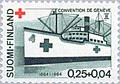 Stamp of Finland - 1964 - Colnect 46439 - Red Cross Steamship - Arcturus.jpeg