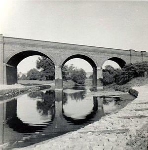 Stanford Viaduct - Stanford Viaduct c1955