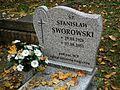 Stanisław Sworowski grave in Poznan Cytadela.jpg