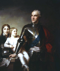 Count Stanislas Potocki and His Two Sons