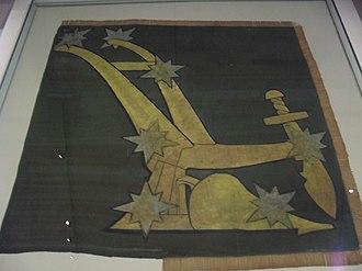 Starry Plough (flag) - Original 1914 Starry Plough.