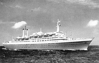 SS Rotterdam - Image: State Lib Qld 1 171355 Rotterdam (ship)