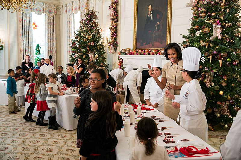 File State Dining Room Of The White House During The