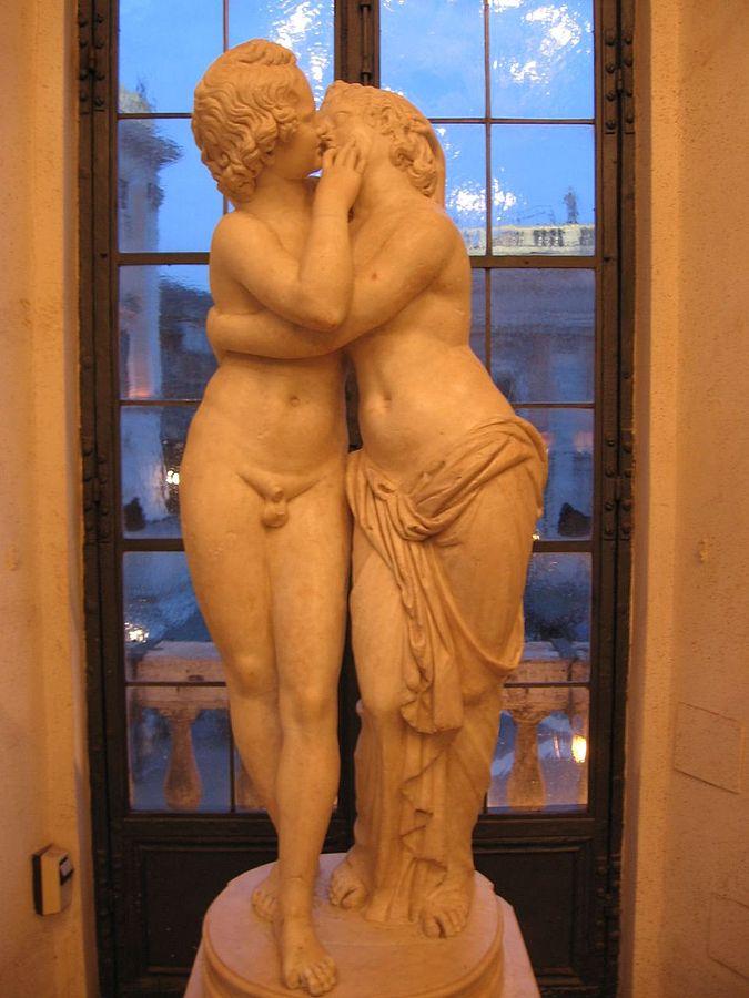 Cupid and Psyche (Roman sculpture)