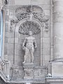Statue of Agriculture at the Lion's Gate, Royal Palace, 2016 Budapest.jpg