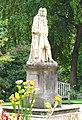 Statue of Hans Sloane, Chelsea Physic Garden.jpg