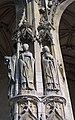 Statues des saints Denis, Marcel et Germain à Saint-Germain-lAuxerrois, Paris 2010.jpg