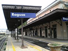 La stazione di Ragusa