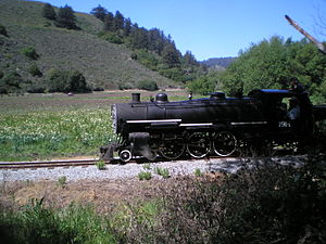 Swanton Pacific Ranch - Railroad system at Swanton Pacific Ranch