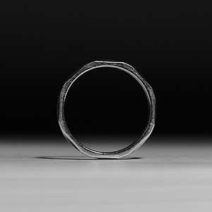 Iron Ring - Iron Ring, stainless steel version, issued circa 2013