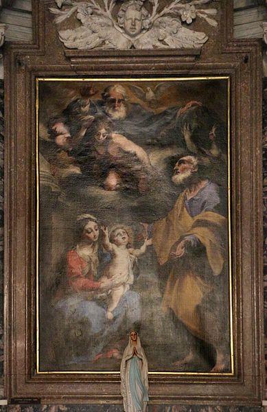 File:Stefano legnani, sacra famiglia e visione della trinità, 1685.jpg
