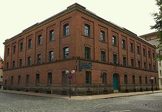 Steingraeber & Söhne - Main workshop in the Dammalle, Bayreuth