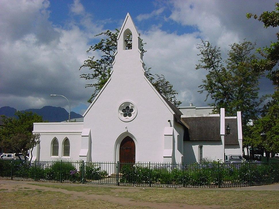 Stellenbosch Eglise Sainte Marie